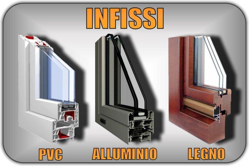 Infissi e serramenti in pvc alluminio legno prezzi for Infissi pvc legno